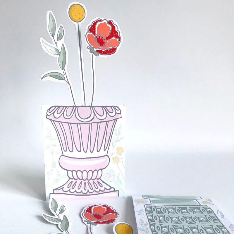 DIY Cadeaubon Viltbloemist