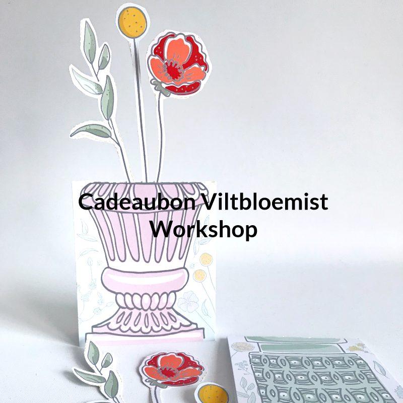 cadeaubon Viltbloemist workshop