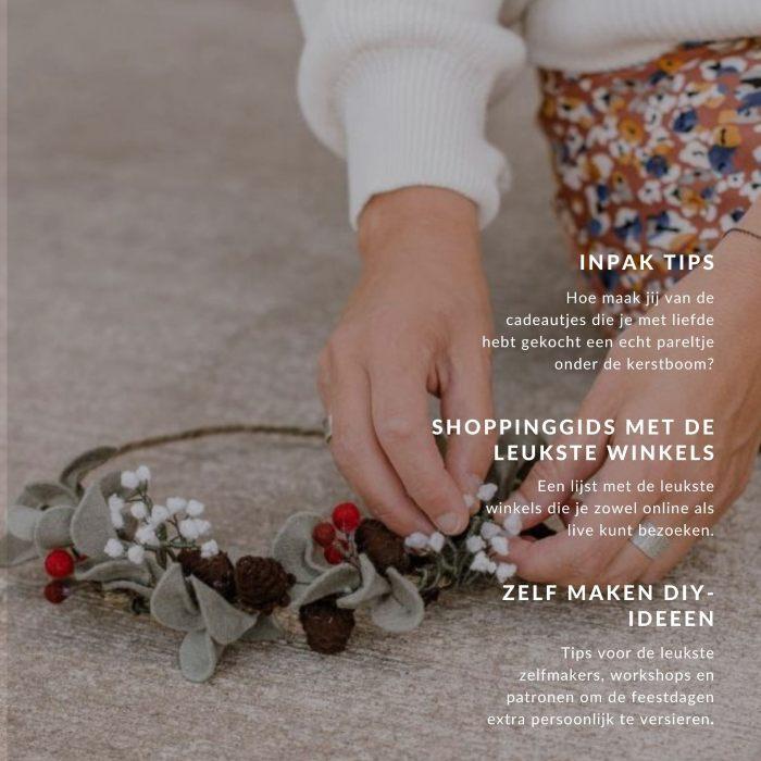 Viltbloemist Kerstmagazine
