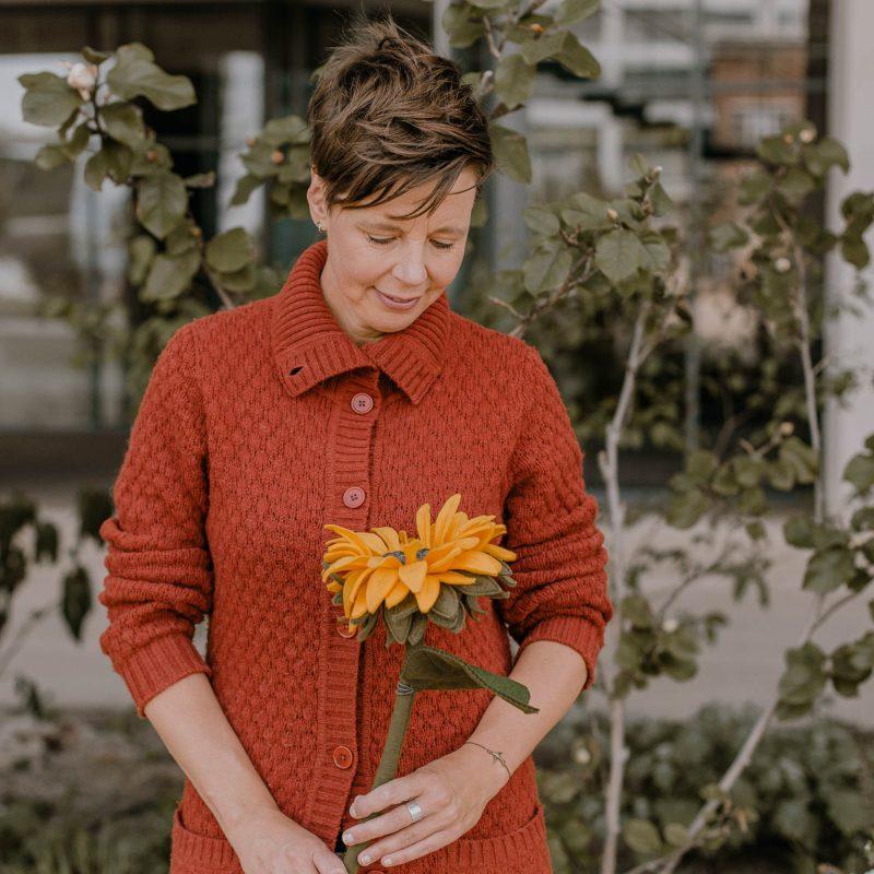 Persoonlijk, rouwbloemen, zonnebloem