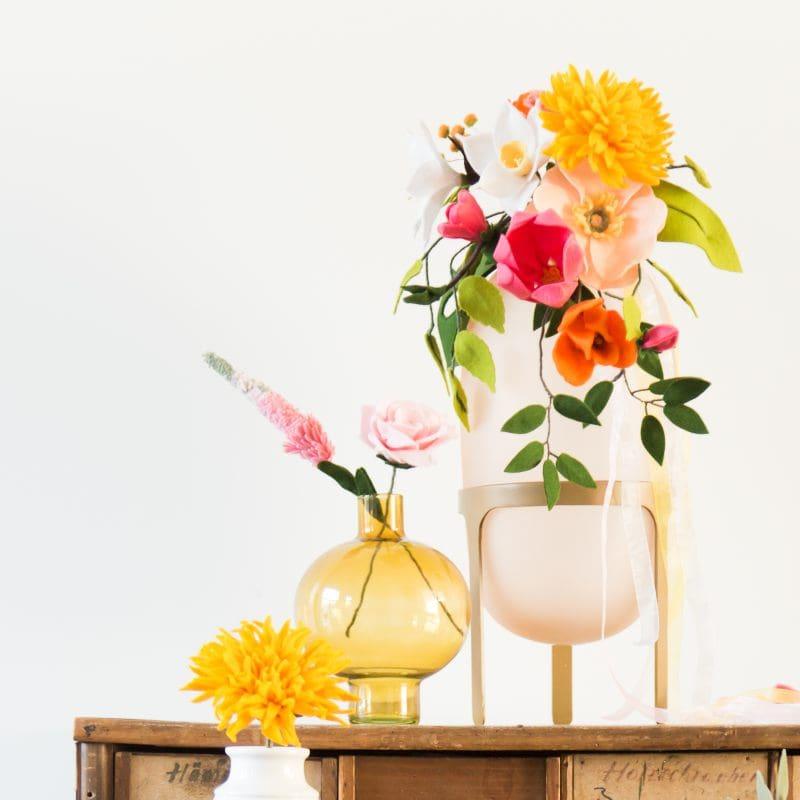 Bloemen voor de woonkamer