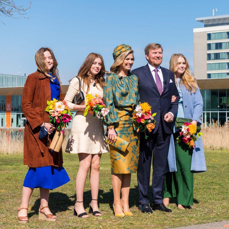 Koningsdag 2021: Bloemen van de viltbloemist